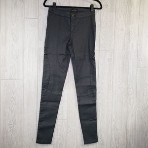 Black Orchid NWT Black Moto Style Skinny Jeans